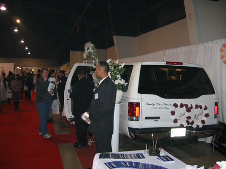 Lucky Star Limousine Total Bridal Show